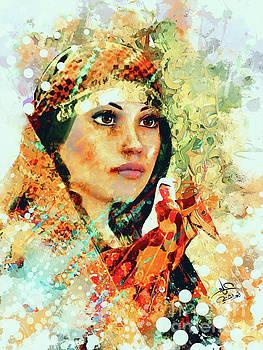 Portrait 6 by Imad Abu shtayyah