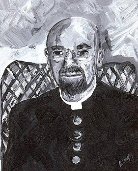Portrait 7 by Helena M Langley