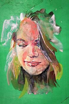 Portrait art by Khalid Saeed