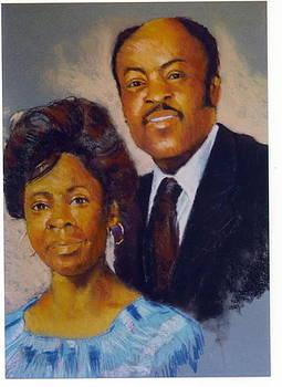 Portrait Commission by Leonard R Wilkinson