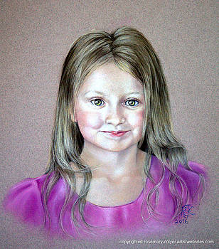 Portrait Commission Young Girl by Rosemary Colyer