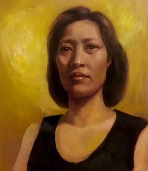 Portrait by Eun Yun
