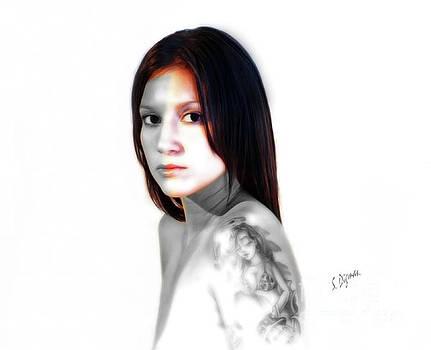 Portrait  Exotic  by Steven Digman