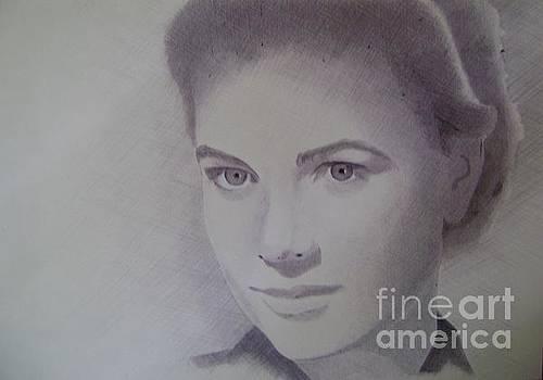 Portrait Grace Kelly by Oleg Kozelskiy
