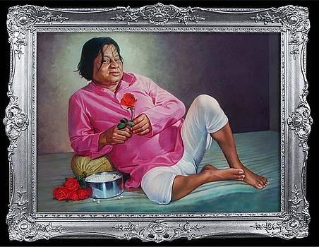 Portrait Gulabbaba by Milind Shimpi