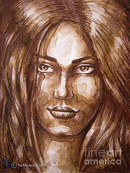 Portrait I by Yonan Fayez
