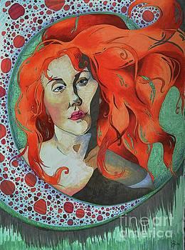 Portrait in Marker by Lauren Marie Nitka
