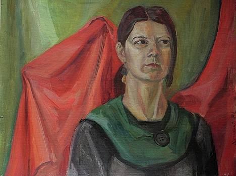 Portrait by Maria Degtyareva