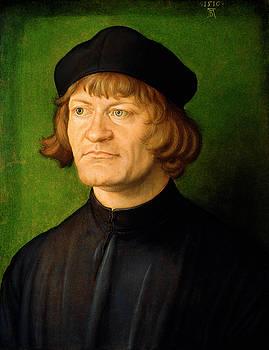Albrecht Durer - Portrait of a Clergyman