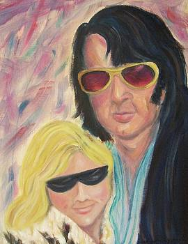 Suzanne  Marie Leclair - Portrait of a couple