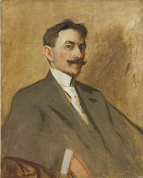 Portrait of a Gentleman by Edwin Murray