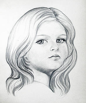 Portrait of a girl by Stoyanka Ivanova