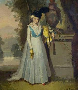 Williams William - Portrait Of A Lady 1796