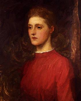 Watts George Frederick - Portrait Of A Lady