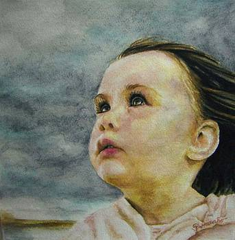Portrait of a Little Girl by Maria Pureza Escano