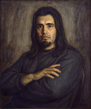 Portrait of a man by Dionisii Donchev