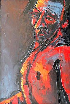Kenneth Agnello - Portrait of a Man