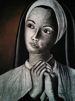 Portrait of a Nun by Alma Bella Solis