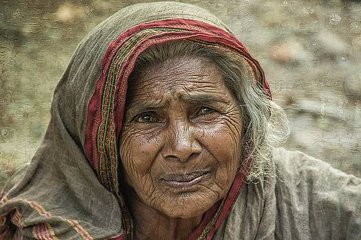 Portrait Of A Street Woman by Constance Puttkemery