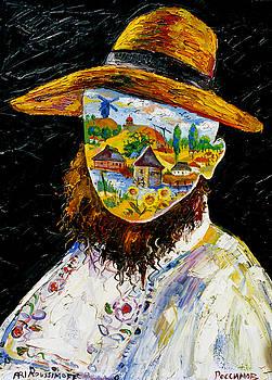 Ari Roussimoff - Portrait Of A Ukrainian Artist