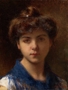 Portrait of a Young Girl by Alexei