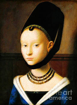 Portrait of a Young Girl by D Fessenden