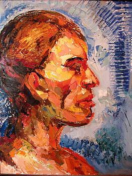 Portrait Of A Young Man by Shant Beudjekian