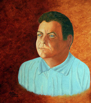 Portrait of AL by Arno Clabaugh