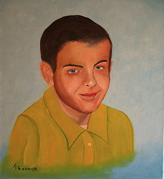 Portrait of Alan by Arno Clabaugh
