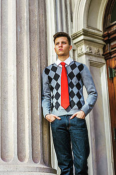 Alexander Image - Portrait of American College Student in New York