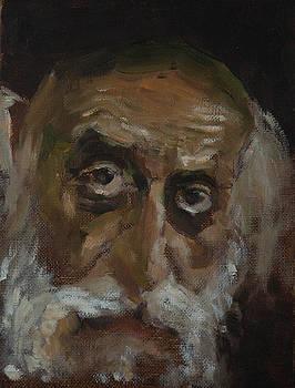 Portrait of an Old Man by Misha Lapitskiy