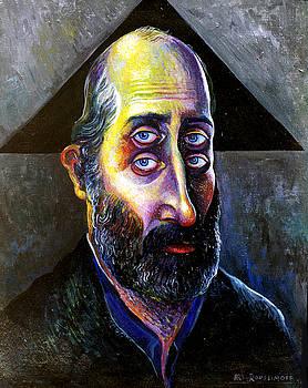 Ari Roussimoff - Portrait Of Author Leonard Jordan Levinson