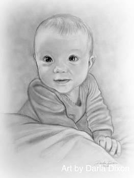 Portrait of Baby by Darla Dixon