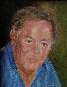 Portrait of Bob Crum by Anees Peterman