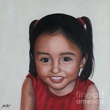 Portrait of Camila by Jindra Noewi