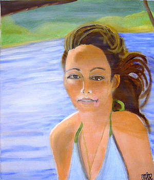 Portrait of Cassandra by Mark Richard Luther