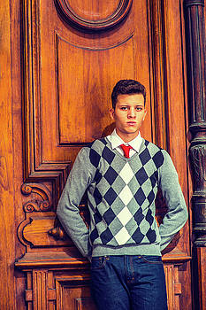 Alexander Image - Portrait of College Student in New York