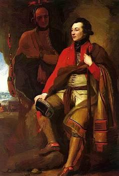 West Benjamin - Portrait Of Colonel Guy Johnson And Karonghyontye 1776