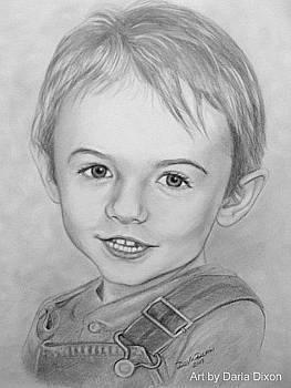Portrait of CP by Darla Dixon