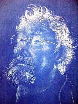 Portrait of David Suzuki by Sharon Wright