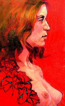 Portrait of Debbie by Roz McQuillan