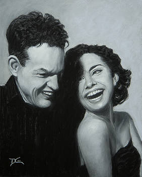 Dee Carpenter - Portrait of Erick and Rachel