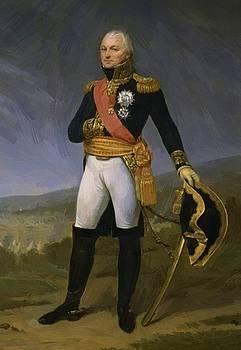 Portrait Of General Claude Legrand 1810 by Gros AntoineJean