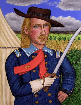 Portrait of Gen. George Armstrong Custer by Stephen Warde Anderson