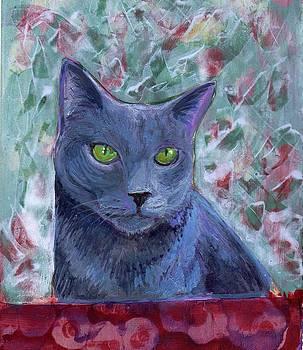Portrait of Grady by Gayle Bell
