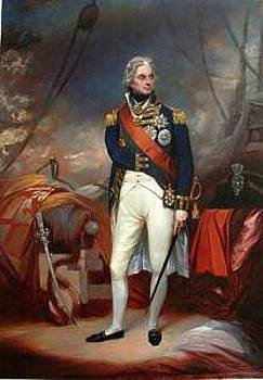 Portrait Of Horatio Viscount Nelson by Shuguang Liu