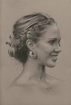 Portrait of Jessica by Brian Duey