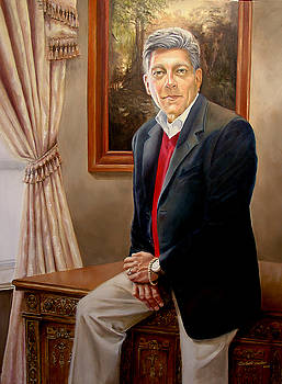 Portrait of Joe Miraglia by JoAnne Castelli-Castor
