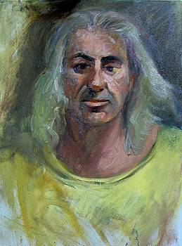 Portrait of John the Pittore by George Siaba
