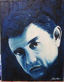 Portrait of Johnny by Sheila Gunter